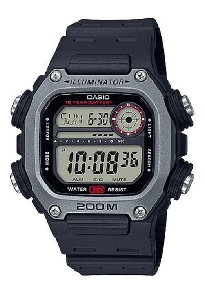 Relógio Casio Masculino Digital Dw-291h 1av Grafite 200m