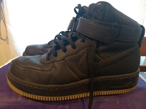 Nike Air Force Cuero Negras Americanas