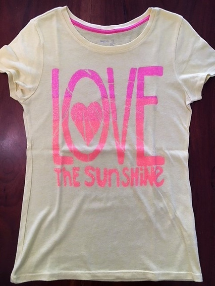Remera M/corta Gap Love