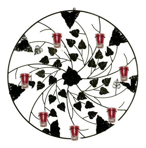 Mandala 70 Cm 4 Modelo Decorativa Parede Castiçal Porta Vela