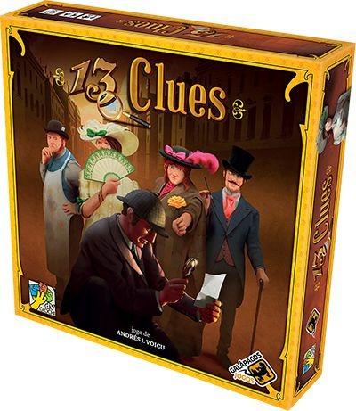13 Clues Jogo De Tabuleiro Galapagos 13c001