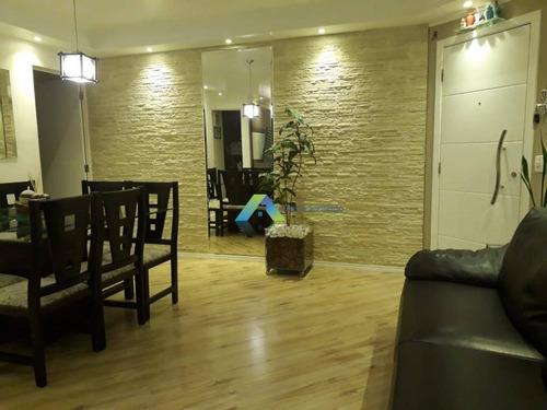 Lindo Apartamento Com 3 Dormitórios, 63 Metros Com Condomínio Clube Excelente Localização Proximo A Comercios E Principais Avenidas. - Ap4944