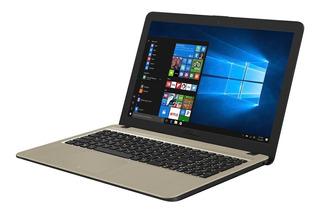 Notebook Asus I3-8130u 1tb Sshd 4gb 15.6 Pulg Win10 Negro -
