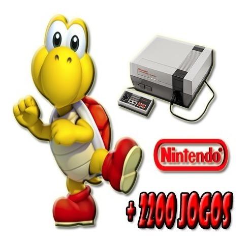 Emulador + 2200 Jogos De Nitendinho (pc)