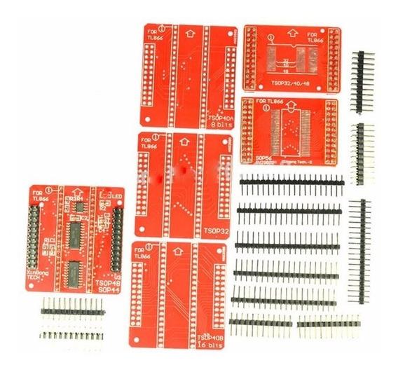 Adaptador Tsop32/40/48 Tl866 Com Bases Sn001