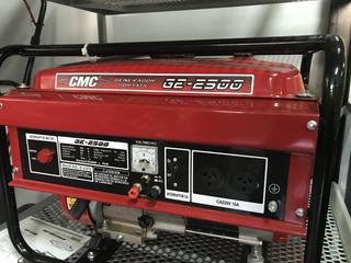 Generador Eléctrico Cmc 2500 2.5 Kva 5.5hp * Exhibicion**