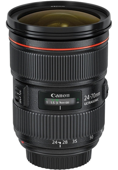 Lente Canon 24-70mm 2.8