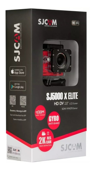 Camera Sjcam Sj5000x 4k Original Wifi 120 Fps Elite Esportes
