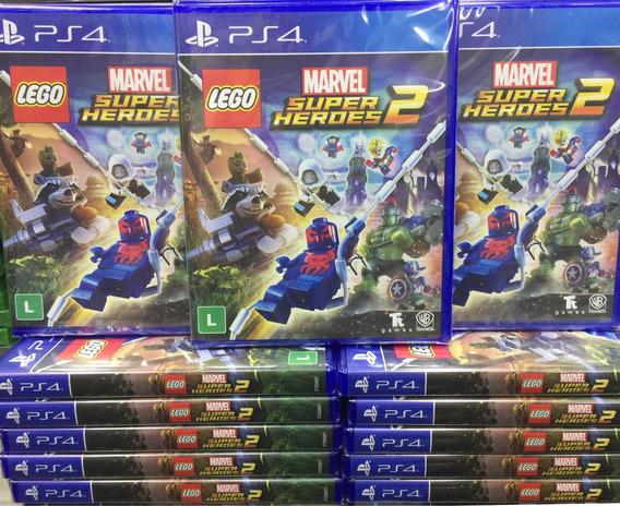 Lego Marvel Super Heroes 2 Ps4 Mídia Física Cd
