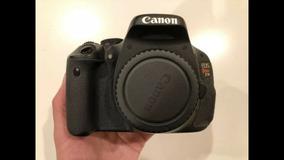 Canon T3i Corpo + 2 Bateria + Carregador +alça. A Vista 999
