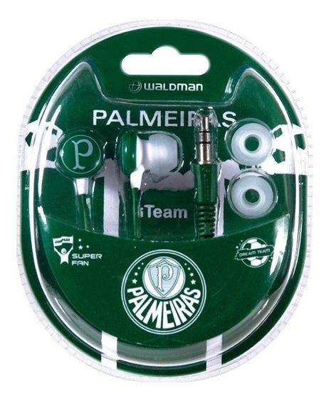 Fone De Ouvido Palmeiras Clubes Brasileiros Waldman Oficial