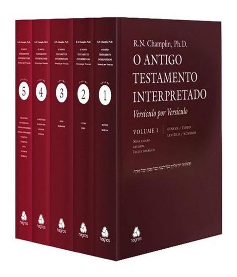 Box - Antigo Testamento Interpretado - 05 Vols