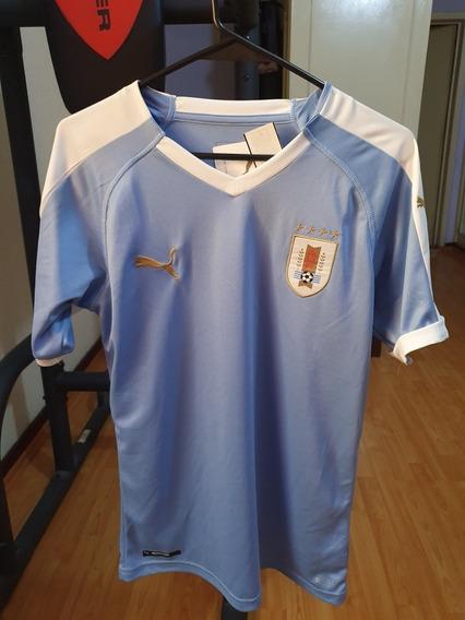 Jersey Puma Réplica Selección De Uruguay Local Hombre