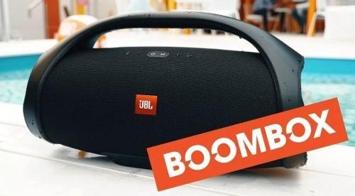 Caixa De Som Jbl Boombox Bluetooth Preto