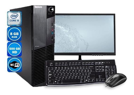 Computador Pc Lenovo M92p I5 3ºgeração 8gb Hd 320gb Wi-fi