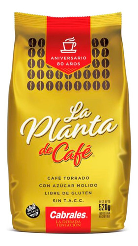 Cafe Molido Cabrales La Planta 520gr Torrado