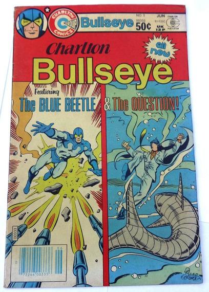 Charlton Bullseye Nº 1 - Blue Beetle - Question - 1981