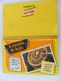 Livro Antigo A Receita De Hoje Knorr É Melhor Com Fotos