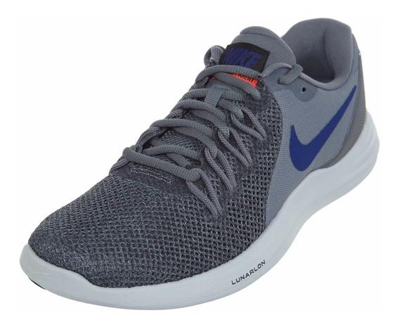 Tenis Nike Lunar Apparent Gris 908987005 Caballero
