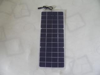 Painel Placa Solar Semi Flexivel 12v 10w