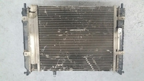 Kit Conjunto Condensador Eletro Radiador Fiat Strada 1.8