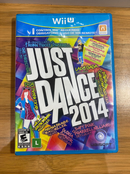 Just Dance 2014 Nintendo Wii U Original Midia Fisica Show