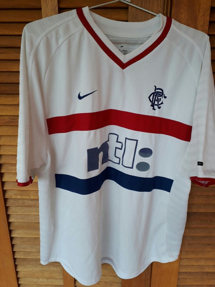 Camisa Glascow Rangers Escocia Nike 2000 Made In Portugal