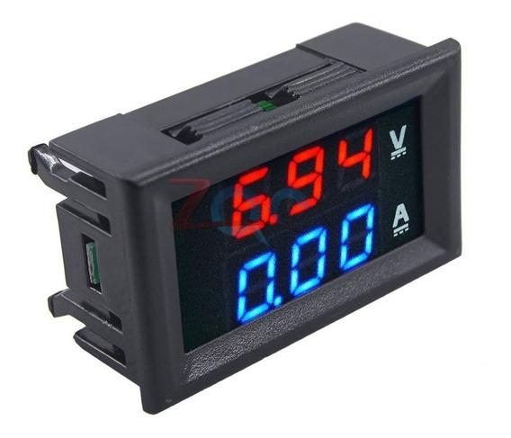 Módulo Mini Digital Voltímetro Amperímetro Dc 100 V 10a
