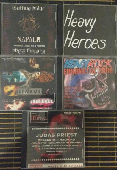 Heavy Metal - Lote - Judas Priest- Megadeht - Pantera