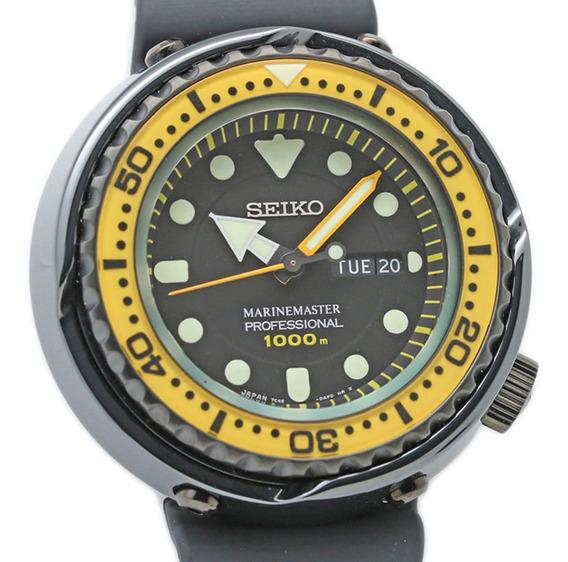 Relógio Seiko Marinemaster 1000m - Cerâmica Titânio E Safira
