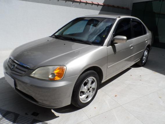Honda Civic Ex 2002 Automático, Excelente Estado.