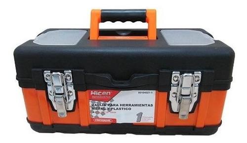Caja De Herramienta Broche De Metal Hicen 35x18x16cm G P