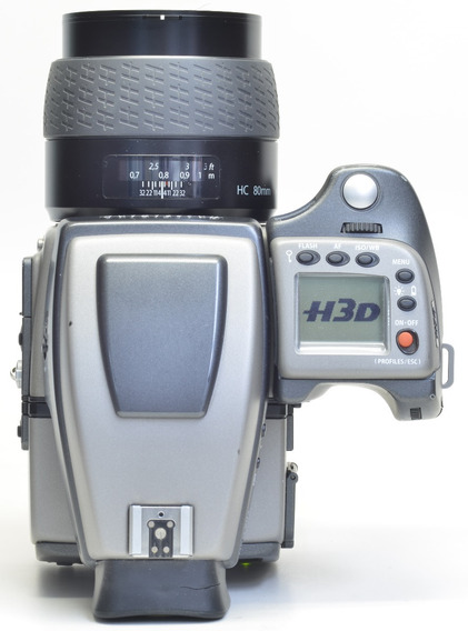 Hasselblad H3d + Back Digital 50megas + Objetiva 80mm