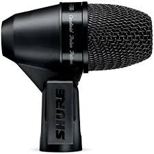 Microfone Shure Pga56 Cardioide Para Bateria Original C/nf