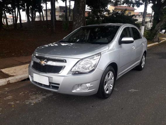 Chevrolet Cobalt 1.8 Lt Flex Completo 2014 Prata Doc Ok