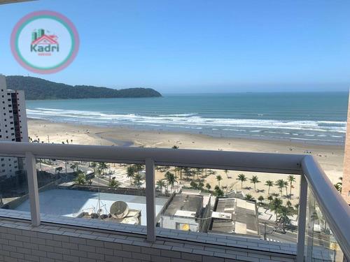 Cobertura Com 3 Dormitórios À Venda, 167 M² Por R$ 1.270.000,00 - Vila Guilhermina - Praia Grande/sp - Co0117