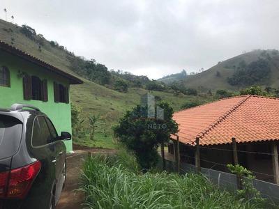 Chácara Com 2 Dormitórios À Venda, 1600 M² Por R$ 210.000 - Água Comprida - Cambuí/mg - Ch0010