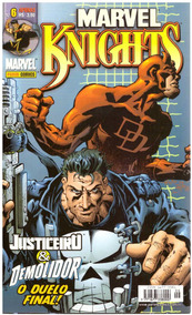 Marvel Knights Justiceiro Demolidor Panini (detalhes Dentro)