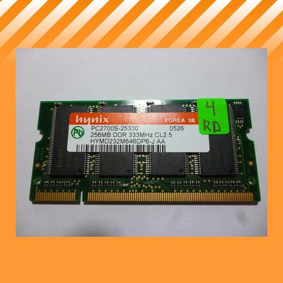 Memoria Notebook 256mb Ddr 333mhz (originales Sony)