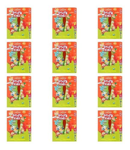 Imagem 1 de 1 de Grupy Kids Brilho Iluminado Shampoo + Cond 500ml (kit C/12)