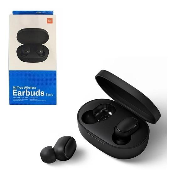 Fone De Ouvido Bluetooth Mi True Wireless Earbuds Xiomi