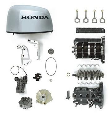Imagem 1 de 4 de Honda Marine Peças E Acessorios Originais