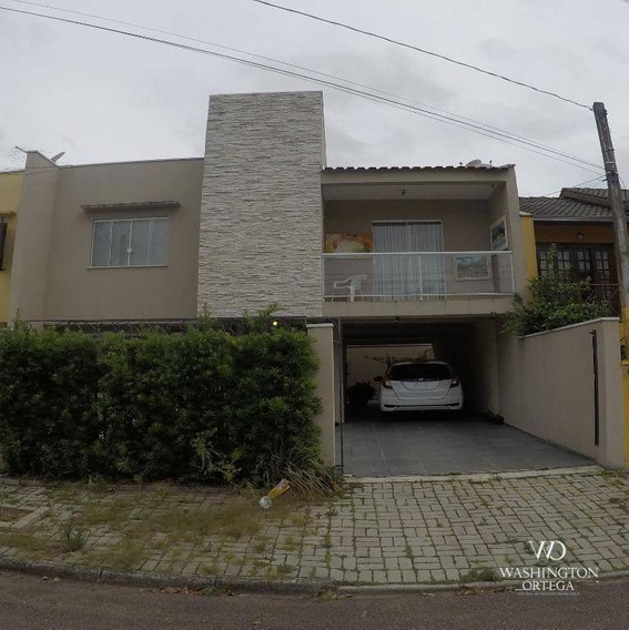 Sobrado Com 3 Dormitórios À Venda, 150 M² Por R$ 650.000 - Aristocrata - São José Dos Pinhais/pr - So0168