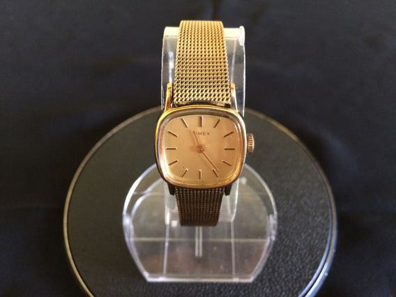 Antigo Relógio Timex De Pulso Feminino A Corda