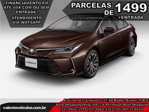 Toyota Corolla 1.8 Altis Hybrid 2021 *todas As Cores*