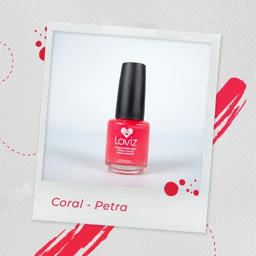 Coral - Petra   Esmalte De Larga Duración De 15ml