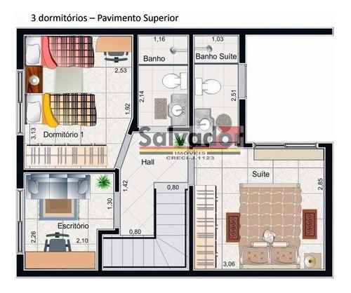 Sobrado Em Condomínio-jd Santa Cruz (campo Grande)-são Paulo - 8176