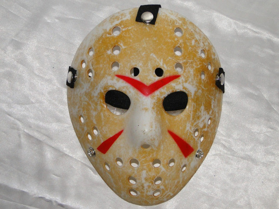 Mascara Jason Reforçada Festa Fantasia Sexta Feira 13 Freddy