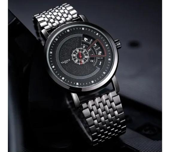 Relógio Masculino Yazole Luxo Quartzo Supreme Design S510