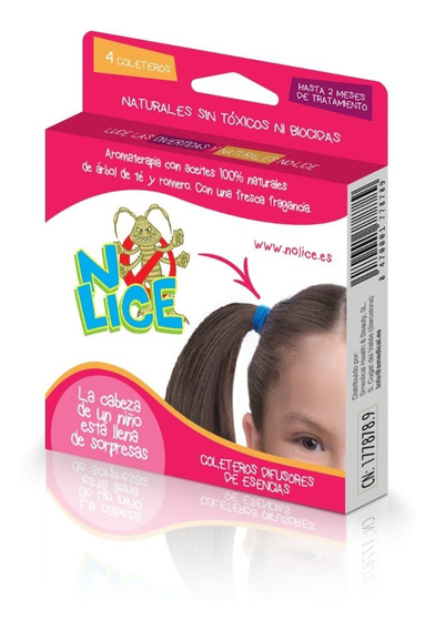Ligas Anti-piojos C/4 Piezas Microlife No-lice Envío Gratis